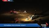 Cánh quạt máy bay đâm xuyên thân, hành khách bị thương