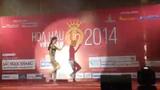 Thí sinh Hoa Hậu Việt Nam nhảy popping cực hấp dẫn
