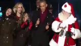 Tổng thống Mỹ Obama nhảy cực cute cùng ông già Noel