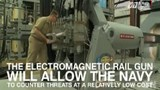 Phát hoảng với súng điện từ của hải quân Mỹ