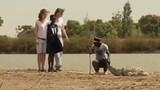Kỳ lạ ngôi làng con người sống chung với cá sấu