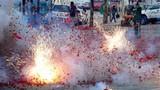 Hành vi đốt pháo trong ngày Tết bị xử phạt thế nào?