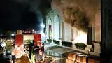 Video: Hiện trường vụ 3 nữ dancer tử vong vì cháy quán bar X5 Vĩnh Phúc