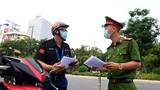 Từ ngày 8/9 Công an Hà Nội sẽ kiểm soát chặt giấy đi đường mới