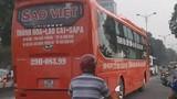 Xe Sao Việt bị đình chỉ vẫn hoạt động: Xử lý thế nào?
