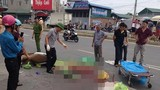 Thai phụ 8 tháng bị xe tải cán ngang người, tử vong