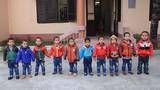 Vẻ hồn nhiên của 10 bé bị bán sang Trung Quốc được giải cứu