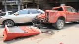 Container gây tai nạn liên hoàn, náo loạn đường phố Hải Phòng