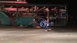 Nổ xe khách ở Bắc Ninh, hơn chục người thương vong