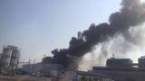 Đang điều tra nguyên nhân cháy nhà máy nhiệt điện Thái Bình 2