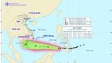 Bão Tembin giật cấp 14 di chuyển nhanh, mạnh lên khi vào biển Đông