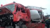 Xử lý thế nào vụ xe cứu hỏa chạy ngược chiều va chạm xe khách?