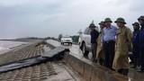 Bão Sơn Tinh giật cấp 10 đổ bộ đất liền: Hoãn họp, cấm biển, di dân ứng phó