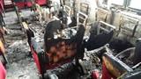 Vụ cháy hội trường UBND xã Hải Lộc thiệt hại thế nào?