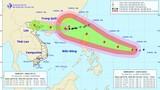 Siêu bão Mangkhut sức gió mạnh cấp 17 tiến vào biển Đông