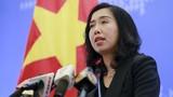 Việt Nam lên tiếng về diễn biến gần đây ở Biển Đông
