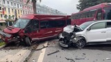 Xe Tucson lấn làn gây tai nạn hàng loạt ở Quảng Ninh: Tài xế say xỉn?
