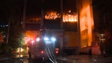 Cận cảnh vụ cháy tòa nhà Dầu khí Thanh Hóa: 2 người chết, 13 người bị thương