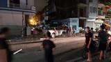 Xe Lexus đâm liên hoàn ở phố đi bộ Hải Phòng, nữ công an tử vong