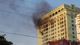 Hải Dương: Cứu hai công nhân mắc kẹt vụ cháy tại tòa nhà Hòa Xá
