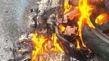 Xe máy bỗng dưng bốc cháy và những vụ còn nhiều dấu hỏi?