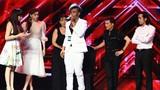 Giám khảo The X-Factor hoảng hồn vì thí sinh suýt ngã