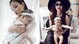 Ảnh xinh lung linh của Maya và con gái 7 tháng tuổi