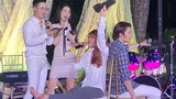 Không ngờ Khởi My - Kelvin Khánh quậy tưng thế này trong đám cưới