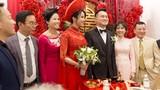 Diệp Lâm Anh hạnh phúc bên chồng thiếu gia trong đám cưới