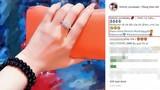 Linh Chi khoe được Lâm Vinh Hải tặng nhẫn kim cương dịp sinh nhật