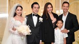 Hồ Ngọc Hà và Kim Lý đưa Subeo đi đám cưới Dương Khắc Linh