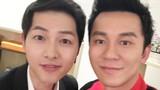 Ảnh Lý Thần, Song Joong Ki chụp chung bất ngờ gây sốt