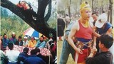 Ảnh hiếm Tây Du Ký 1986: Tôn Ngộ Không bay nhờ ... cần cẩu