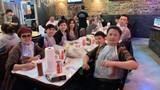Trizzie Phương Trinh cùng tình mới vui vẻ ăn tối với Bằng Kiều