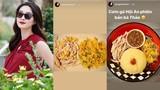 Hoa hậu Đặng Thu Thảo bầu vượt mặt sắp sinh vẫn chăm chỉ vào bếp