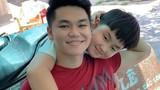 Con trai riêng của Lê Phương mua quà sinh nhật tặng bố dượng Trung Kiên