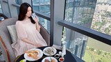 Thêm bằng chứng Á hậu Thúy Vân mang thai 4 tháng với bạn trai?