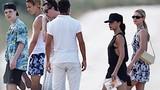 Gia đình Beckham và con dâu tương lai đi nghỉ dưỡng ở Italy