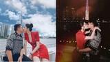 """""""Lịm tim"""" loạt ảnh Hương Giang - Matt Liu hôn nhau từ chiều đến đêm"""