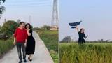 Chí Trung và bạn gái kém 17 tuổi an yên khi ở quê