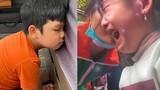 Biểu cảm của nhóc tì nhà sao Việt khi quay lại trường học