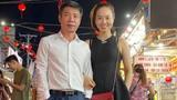 NSND Công Lý và vợ trẻ khám phá chợ đêm ở Phú Quốc