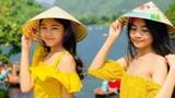 MC Quyền Linh khoe ảnh hai con gái xinh đẹp, cao vượt bố