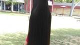 Dị nhân Ấn Độ nuôi tóc dài gần 2 mét suốt 30 năm không cắt
