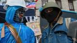 Cảnh sát chống bạo động Ukraine chống lệnh Kiev