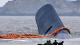 Vụ chìm phà thảm khốc Hàn Quốc: Sewol đã chìm hoàn toàn