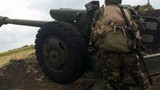 Ukraine dùng pháo binh và không quân tấn công miền đông