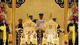 Đám cưới toàn vàng, đá quý của con trai Quốc vương Brunei