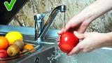 11 loại thực phẩm không nên rửa và nên rửa trước khi sử dụng
