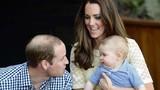 Những khoảnh khắc ngọt ngào khi làm bố của Hoàng tử William